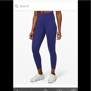 Lululemon Fast and Free Tight 11 Length 25""